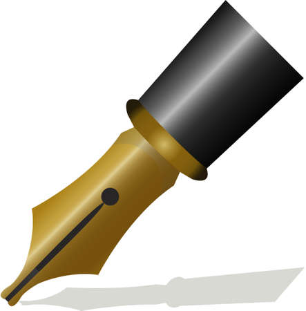 filler: writing pen head