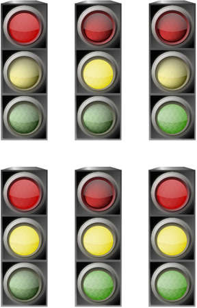traffic light Stock Vector - 6882704