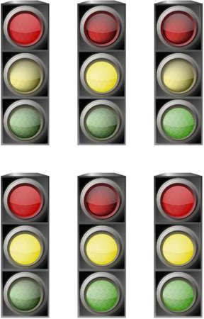 traffic light Stock Vector - 6882704