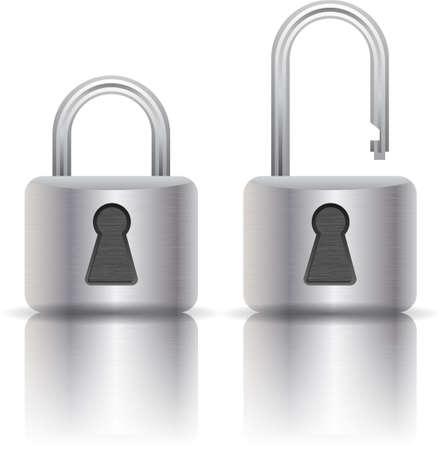 single entry: illustration of padlock