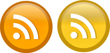 flux: RSS Icon vector