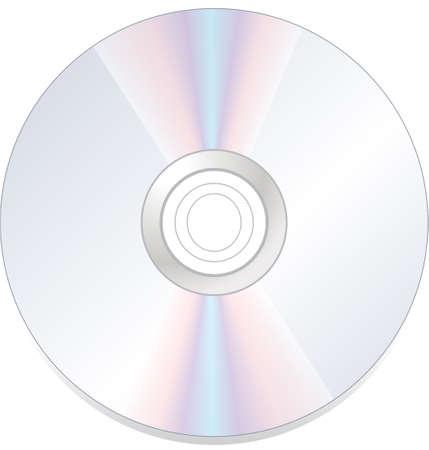 cd rom: disk dvd cd rom isolated on white