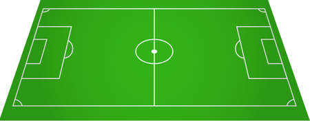 football pitch: Football soccer field pitch