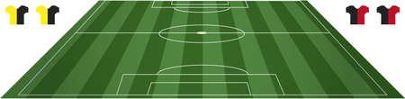 champ: Football soccer field pitch