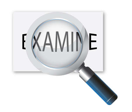 magnifying glass icon Stock Vector - 7305702