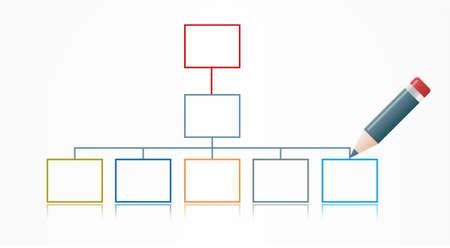 whiteboard: Vector grafiek op Whiteboard met Pen