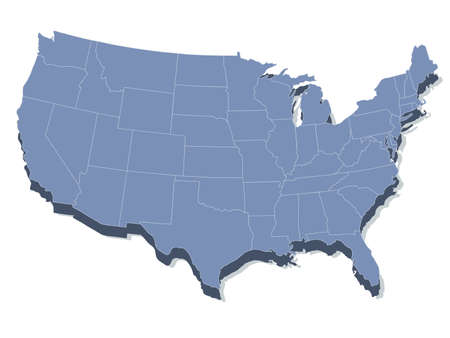 map of usa: map of the united states of america