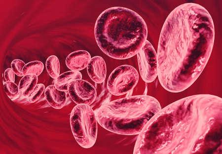 3d illustration Cancer cells in human body. 3d illustration