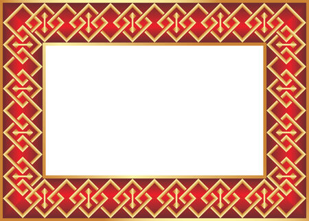 The decorative vector frame for your photo Vector
