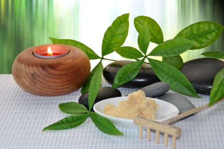 treatment for natural stone massages and mineral salts photo