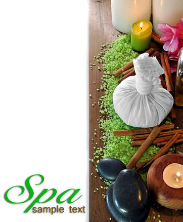 sachets: objects such as stones massage oils, scented sachets, etc.