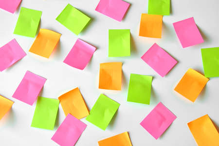 posit: paper notes with organization of several days