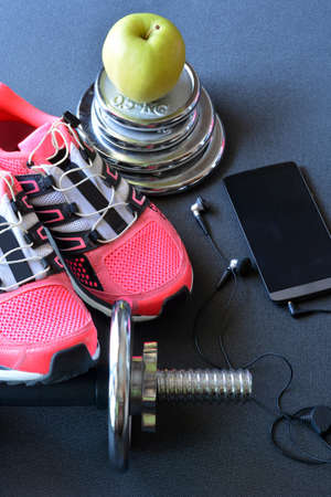sport shoe: sneakers, clothing and accessories for fitness
