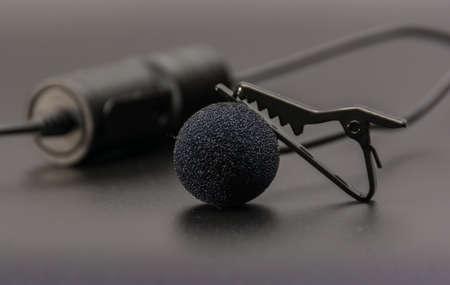 ラペルマイク電話モービルやデジタル一眼レフ カメラに使用