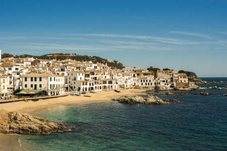 Precious town fisherman located in Spain, exactly in the Costa Brava