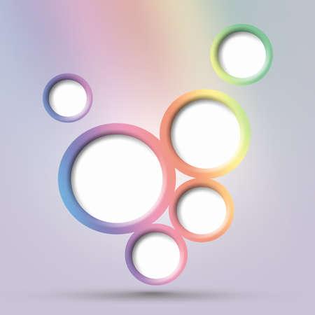 Abstract web design bubble photo