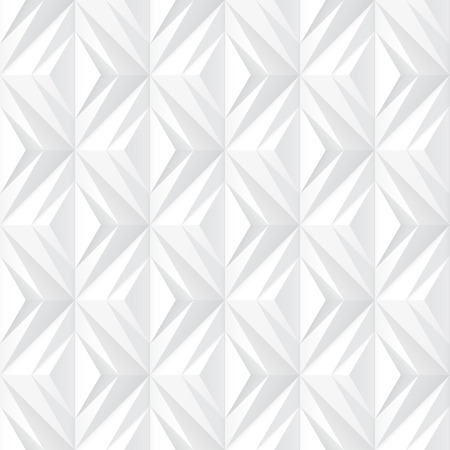 Decorative white texture - seamless vector background.