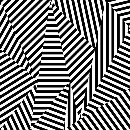 스트라이프 형태의 추상적 인 배경입니다. 검은 색과 흰색 질감.