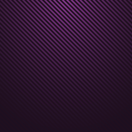 black: Abstract dark violet striped background. Vector dark texture.