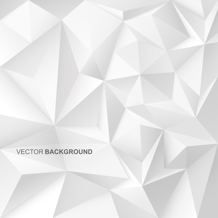 Abstract geometric background with white shapes. 3d esign. Stok Fotoğraf - 47185674