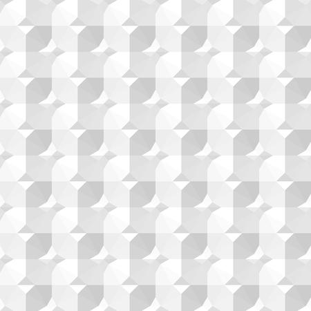 ceramic: White decorative ceramic texture. Vector seamless background.
