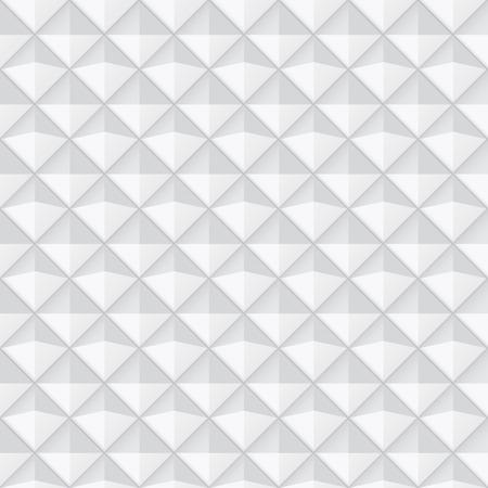 ceramic: White geometric texture - seamless. Ceramic decorative pattern.