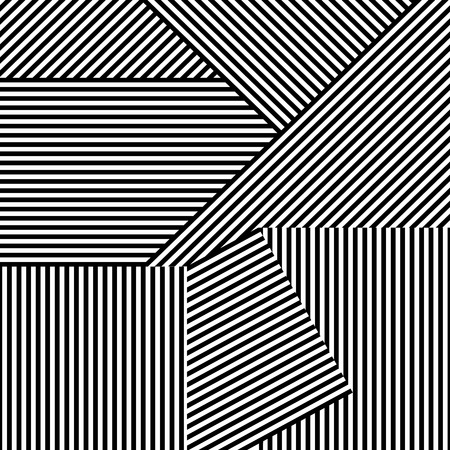Seamless striped background. Vector creative pattern for your design and ideas.