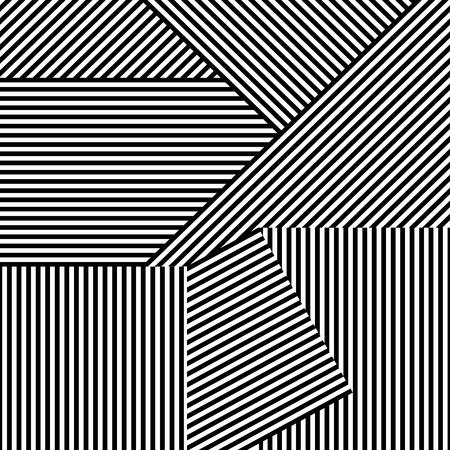 원활한 줄무늬 배경입니다. 디자인 및 아이디어 벡터 크리 에이 티브 패턴입니다. 일러스트