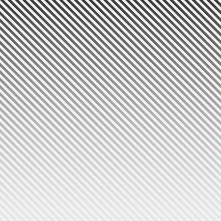Vector striped background. Diagonal lines pattern. Black and white. 向量圖像