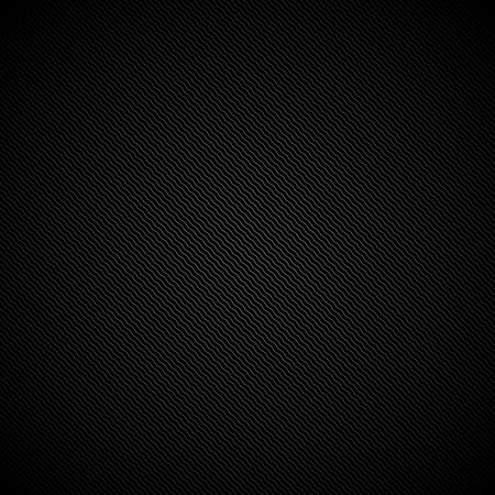 diagonal: Black striped texture - vector background. Diagonal zigzags. Illustration