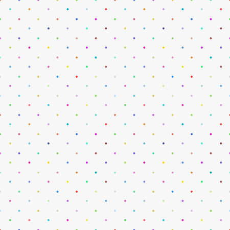 Color pattern -a seamless polka dot background