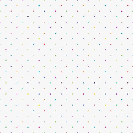 Kleurpatroon -een naadloze polka dot achtergrond Stock Illustratie