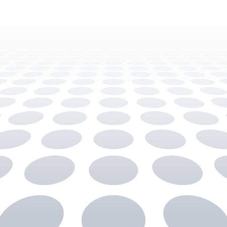 vision: White dotted background of vision perspective. Vector illustration.