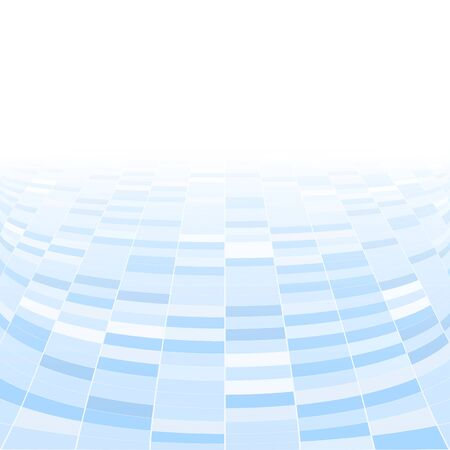 tiled floor: Abstract blue background.  Perspective tiled floor for your design, Illustration