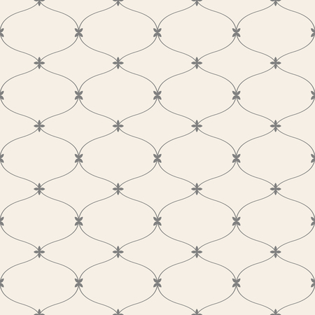 repeated: Elegant vector seamless pattern.Vintage background for design. Illustration