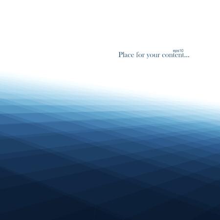 Abstracte blauwe achtergrond. Soortgelijke water. Vector illustratie eps10.