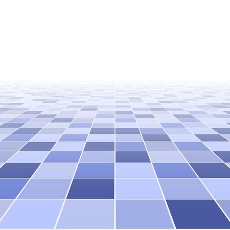 Abstracte achtergrond. Perspectief tegelvloer. vector illustratie Stock Illustratie