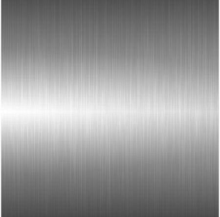 금속 광택 배경입니다. 벡터 밝은 금속 질감입니다. 일러스트