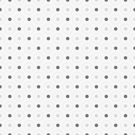 ポイントとドットでシームレスな幾何学的なパターン。