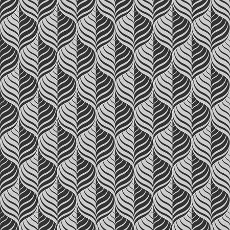 gray and black: Vector monochrome pattern - a seamless vector background