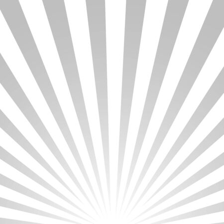 sun rays: Abstract vector background, white and grey striped texture