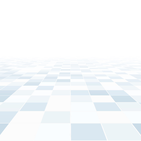 Abstract background with perspective. Blue tile floor.