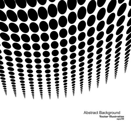gradation: Halftone gradation background, vector black and white texture.