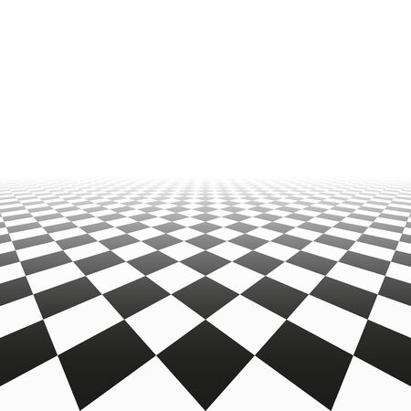 Abstract background with perspective. Tile floor texture.