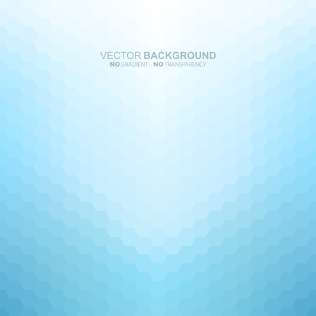 Blue light abstract background. Vector illustration does not contain gradients and transparency