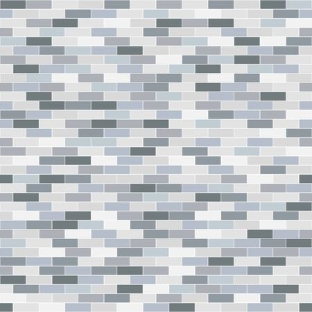 repeatable texture: Brick repeatable texture. Vector seamless wall background.