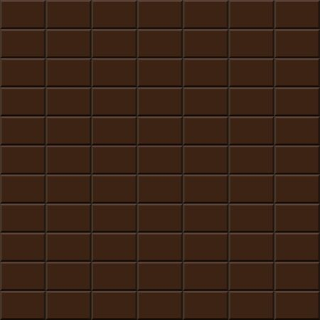 seamless tile: Chocolate tile - seamless vector background. Sweet background.