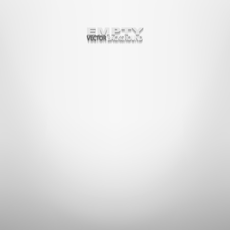 Gray empty space. Abstract gradient vector background. Illustration