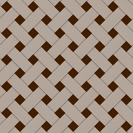 woven: Geometric woven texture - a seamelss vector background.