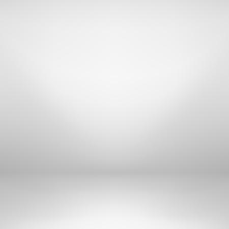 Puste białym tle studio. Szary wzór gradientu. Ilustracje wektorowe